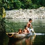 Kinder vom Volk der Awa-Indianer in Kolumbien | Bild (Ausschnitt): © Bernhard Henselmann - earthlink e.V.