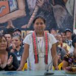 Marichuy, die erste indigene Frau, die zur Präsidentschaftswahl in Mexiko antritt. Marichuy, die erste indigene Frau, die zur Präsidentschaftswahl in Mexiko antritt. | Bild (Ausschnitt): © DOK.Fest München - DOK.Fest München