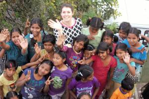 "Kinder des ""Happy Home"" in Indien"