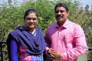 Gründerin und Präsidentin von CMM Jayamma Bandari & Project Manager Jaya Singh Thomas