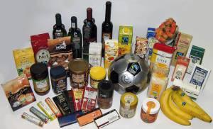 Fair gehandelte Produkte mit Transfair-Siegel